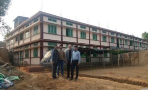 2017: Construction of a school building in Meghalaya, N. E. India