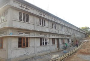 2016: Construction of school building in Meghalaya – Phase 1
