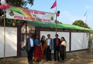 2018: Construction of a dispensary nearby the school in Meghalaya