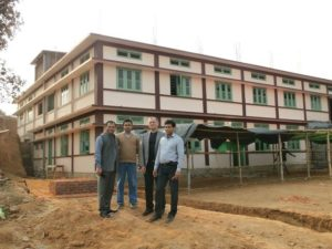 Inauguration of School Building in Meghalaya