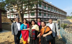 Inauguration of the 2nd phase of the School building in Meghalaya
