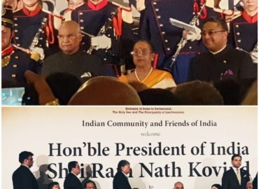 Visit of the President of India